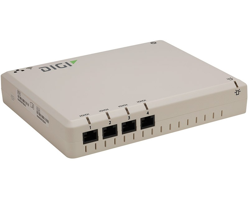 Digi Connect WS, 4 RS232 serial ports