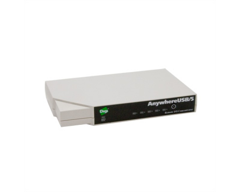 *Digi AnywhereUSB/5 with Multi-Host Connections