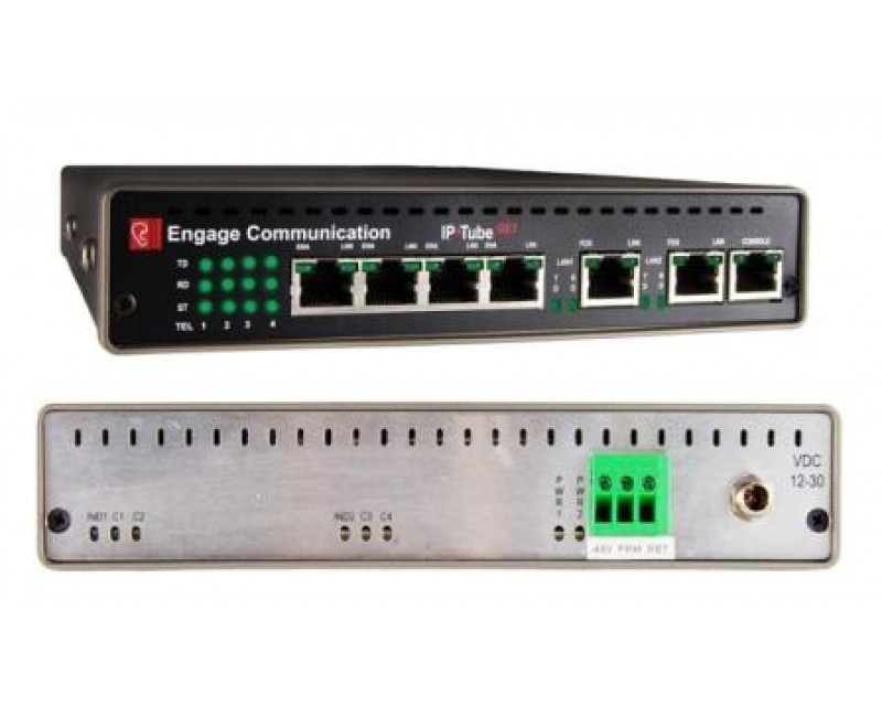 Engage IP Tube GE1  >>  Base Model Specify # of E1 Ports Enabled