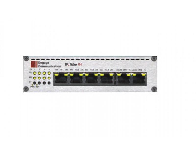 Engage IP Tube G4 E1  >>  Base Model Specify # of E1 Ports Enabled