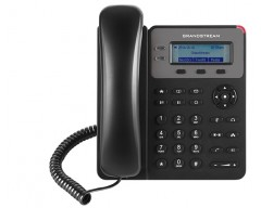 Grandstream GXP1615 Basic IP Phone - PoE, 132x48 LCD, 1 SIP account, 2 line keys, 3-way conferencing, Dual-switched 10/100 mbps ports
