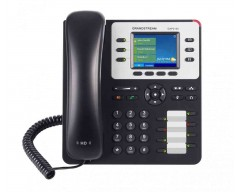 Grandstream GXP2130 v2 High End IP Phone - PoE, 320x240 Colour LCD, Supports 3 lines, 3 SIP accounts and 4-way voice conferencing