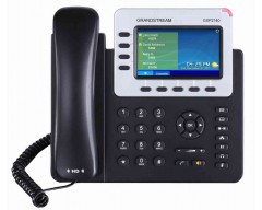 Grandstream GXP2140 High End IP Phone - PoE, 480x272 Colour LCD, Supports 4 lines, 4 SIP accounts and 5-way voice conferencing