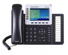 Grandstream GXP2160 High End IP Phone - PoE, 480x272 Colour LCD, Supports 6 lines, 6 SIP accounts and 5-way voice conferencing