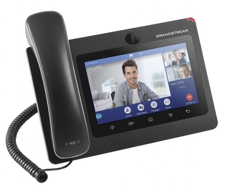 "Grandstream GXV3370 IP Video Phones for Android - PoE, 7"" (1024x600) touch screen, Android V7, Wi-Fi, Bluetooth"