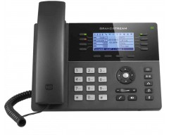 Grandstream GXP1782 Mid-Range IP Phone - PoE 200x80 LCD, 8 lines, Dual Gigabit Ports, 4 program keys