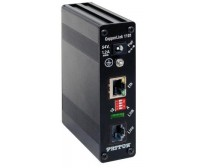 Patton CopperLink Model CL1101E - Industrial CopperLink PoE Remote Extender, 1x 10/100, 802.3af (mode A), BNC Line, Line Powered