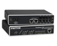 Patton SmartNode 4528 8-Port VoIP Router - 4 FXO & 4 FXS