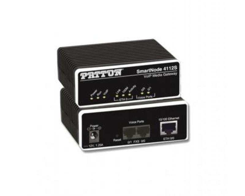 Patton SmartNode 4112S 2-Port Gateway - 2 FXS
