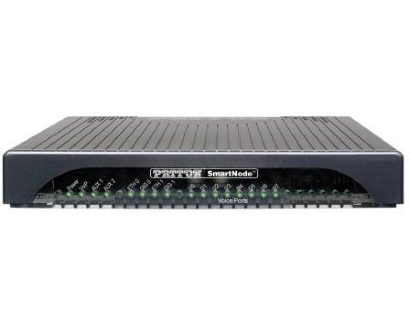 Patton SmartNode 4141 Analogue VoIP Gateway, 2FXS, 2 VoIP Calls, 4 SIP Sessions