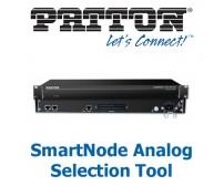 *Patton SmartNode Analogue Selection Tool*